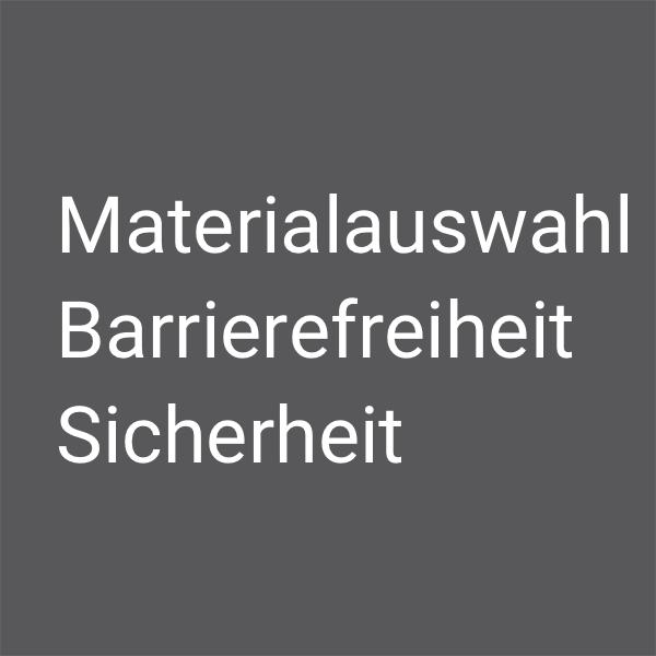 Grauer Kasten zur Nachhaltigkeit mit Text von Silke Fuchs