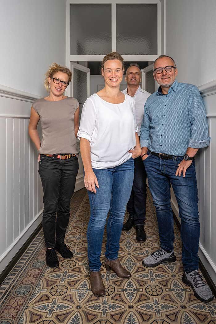 Silke Fuchs Architektin mit ihrem Team