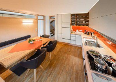 Umbau Kochen und Wohnen
