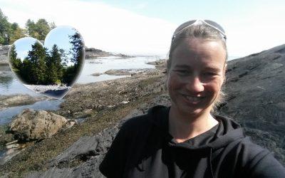Architektin Silke Fuchs lacht gerne, liebt die Natur, übernimmt Verantwortung und hat Ziele.
