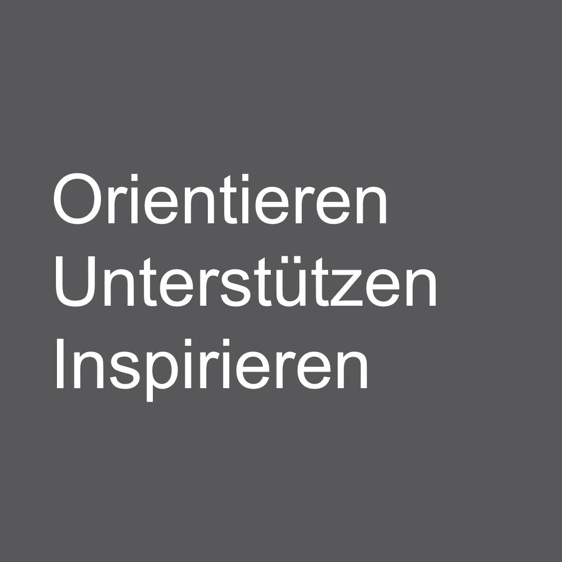 Grauer Kasten mit Text von Silke Fuchs