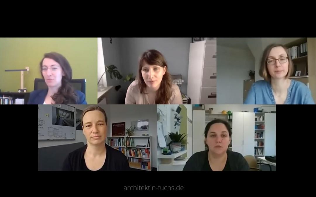 Panel zum Thema Sichtbarkeit am Weltfrauentag 2020